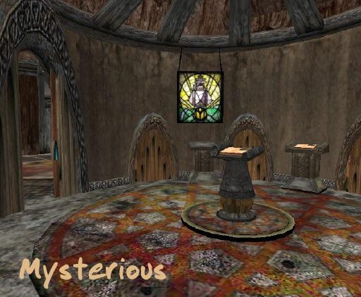 Myst Island indoors