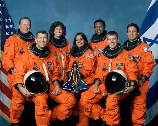 space shuttle columbia disaster crew - photo #2