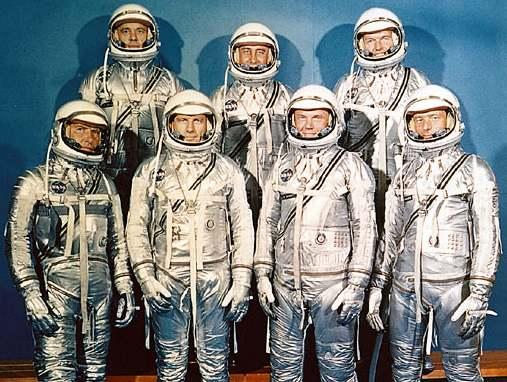 Mercury 7 astronauts