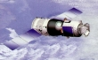 Chinese artist concept of Shenzhou in orbit