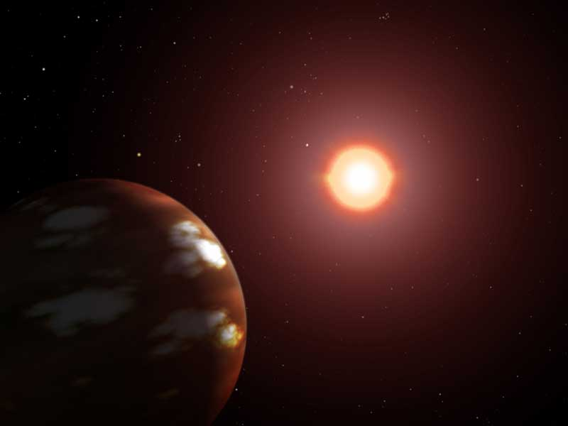 Neptunian exoplanet.
