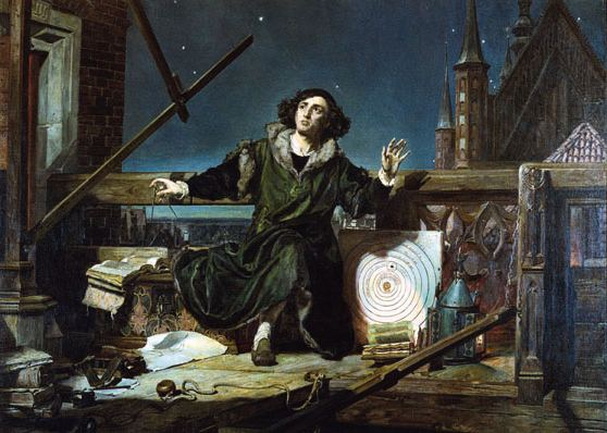Portrait of Nicolaus Copernicus from Jan Matejko's painting at the end of the 19th century - Courtesy of Nicholaus Copernicus Museum in Frombork