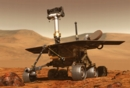 NASA artist concept of Mars Rover on the Red Planet