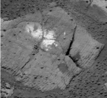 NASA photo of rock Carousel by rover Opportunity on Mars