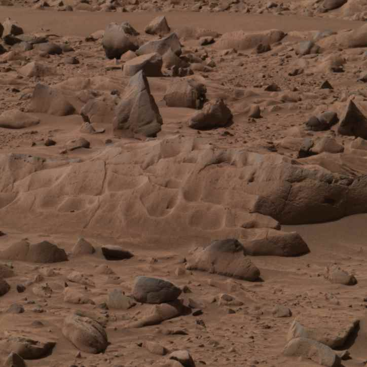 rock on mars by rover - photo #1