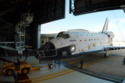 shuttle Atlantis at KSC Dec. 16, 2003