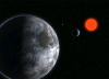 NASA artist concept of planet Gliese 581 c