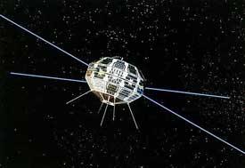 Canada's Alouette-1 satellite
