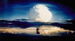 U.S. Department of Energy photo of a hydrogen bomb explosion