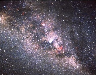 NASA image of Milky Way Galaxy