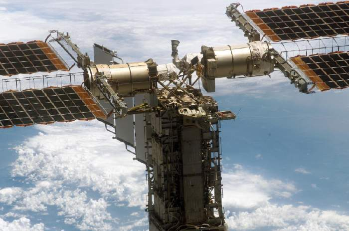 OCSAT2 mounted on the ISS