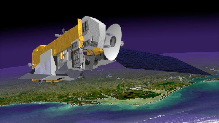 Space Today Online - Terra Aqua Aura - NASA Earth ... Terra And Aqua Satellite