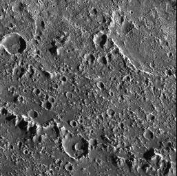 Surface of Jupiter's moon Callisto