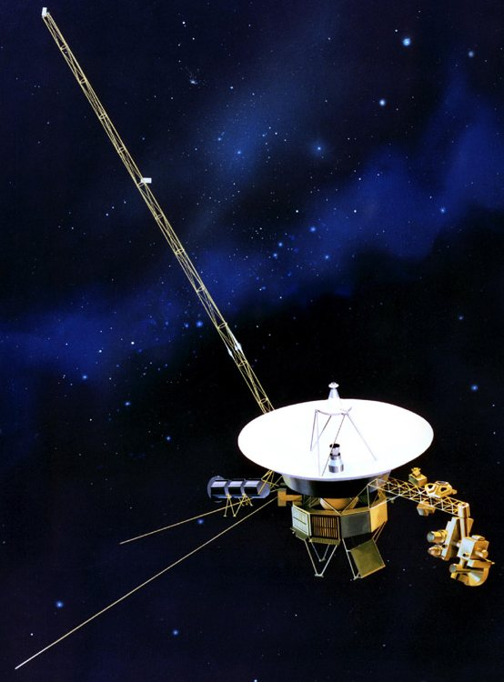NASA artist concept of Voyager 1