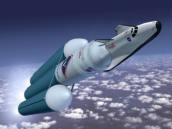 Orbital Sciences Corporation artist concept of U.S. space plane launch