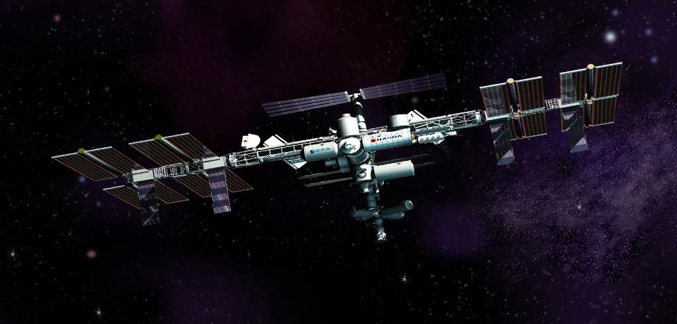 Artist concept of future International Space Station configuration