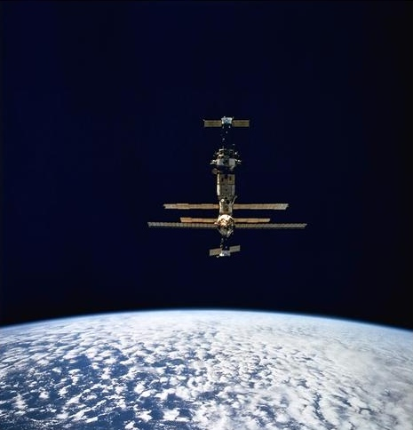 ussr launches mir space station - photo #20
