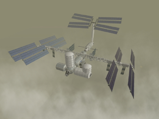 International Space Station in Second Life