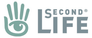 Second Life logo, a registered trademark of Linden Lab